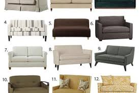 Loveseat Sofa Beds Sleeper Sofas Apartment Therapy
