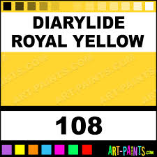 diarylide royal yellow artist acrylic paints 108 diarylide