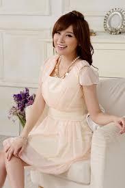 Light Pink Dress Plus Size Wholesale Plus Size Women Dress In Summer Fashion K9906 Pink