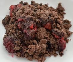 chocolate strawberry chocolate covered strawberry cobbler