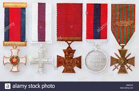decorations left to right distinguished service