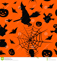 halloween card seamless pattern background royalty free stock