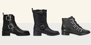 flat biker boots 10 best black biker boots for women in 2017 edgy leather biker