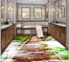 3d Bathroom Floors by Online Get Cheap Wooden Bathroom Floors Aliexpress Com Alibaba