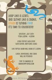reptiles u0026 amphibians invitation plus thank you note best