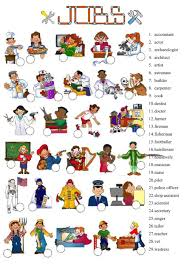 Esl Vocabulary Worksheets Jobs And Occupations Interactive And Downloadable Worksheet Check