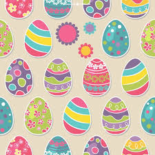 paper easter eggs easter eggs seamless pattern vector free