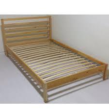 Single Bed Frame Ikea Tarva Single Bed Frame Sultan Ludroy Slatted Bed Base