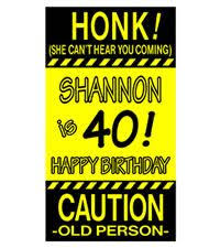 40th birthday lawn signs ideas 40th birthday ideas