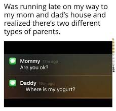 Different Types Of Memes - two different types of parents funny pictures pinterest