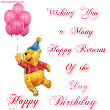 many many happy returns of the day wishes greeting images with