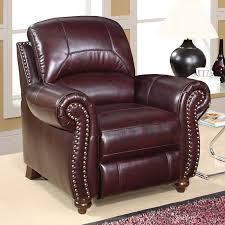 Burgundy Accent Chair Charming Accent Chair Leather With Perlora Modern Leather