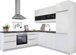 winkelk che ohne ger te küchenzeile 240 250 260 cm kaufen otto