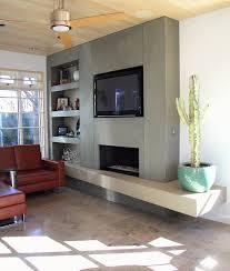 concrete revolution fireplace design portfolio