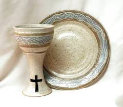 communion sets communion chalice and paten set intinction service cup and plate