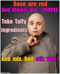 Roses Are Red Meme - dr evil roses are red violets are purple rhyme imgflip