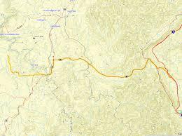 Cumberland River Map Big South Fork Honey Creek Loop Trail U2013 Justin Acuff U0027s Blog