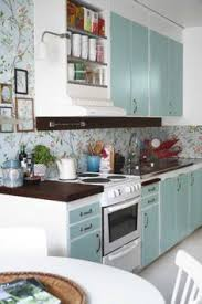 Aprilafterretrokitchen Dream Home Pinterest Retro - Painted kitchen cabinet doors