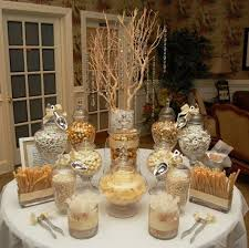image result for pink gold white black candy table autumn s