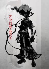 number 1 headband afro samuari sword number 1 headband foot kill killer robot