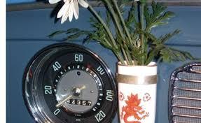 Vw Beetle Flower Vase Volkswagen Beetle Retrospective Autofocus Ca