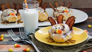 cinnamon roll turkeys recipe pillsbury