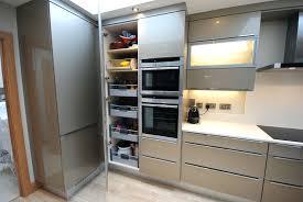 German Kitchen Bauformat Brest 186 Concrete Looking Kitchen Cabinets Made In