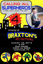 Invitation Card 7th Birthday Boy 132 Best Super Hero Birthday Images On Pinterest Super Hero
