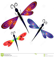 abstract dragonfly clip art royalty free stock photo image 2807035