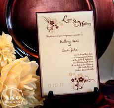 wedding invitations burgundy burgundy chagne ivory wedding invitation sko designs