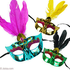 feather masks wholesale metalilc faux gem feather masks bulk pricing joissu