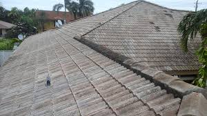 Cement Tile Roof Roof Repairs New Roofs In Miami Large Tile Roof Replacement In