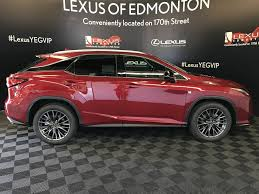lexus rx edmonton used 2017 lexus rx 350 4 door sport utility in edmonton ab l13366
