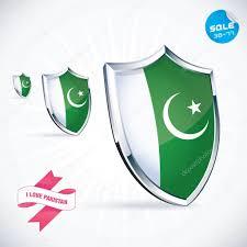 Baby Flag I Love Pakistan Flag Illustration Sign Symbol Button Badge
