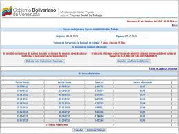 Calculo Referencial De Prestaciones Sociales En Venezuela | cómo calcular las prestaciones sociales en línea