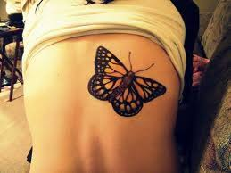 fashion yellow butterfly tattoos yellow butterfly