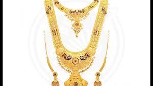 gold haram sets gold bridal haram set designs