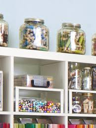 baking supply organization how to turn any space into a dream craft room hgtv u0027s decorating