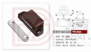 replacement kitchen cabinet doors magnet yd 904 58mm abs cabinet door stopper magnet catch magnetic door catch from door stop factory view cabinet door stopper yingda product details from