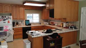Fitting Kitchen Cabinets Granite Countertop How To Fit Kitchen Worktop Cream Vintage