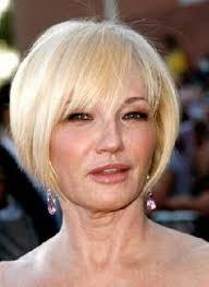 medium hairstyle for square face women medium haircut