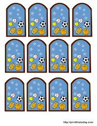 sport themed baby shower free sports themed baby shower favor tags templates