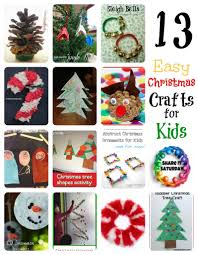 share it saturday 13 christmas crafts with kids teach beside