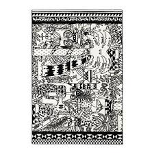 Off White Rug New Ikea Stunsig Black Off White Rug Low Pile Tropic 6 U0027 5