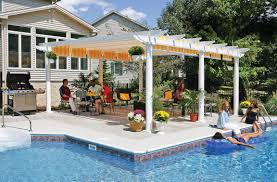 Pergola Designs For Patios by Building Vinyl Decks Patios Pergolas U0026 Associated Railing