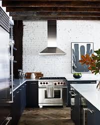 black walls white kitchen cabinets vintage luxe loft kitchen kitchen interior kitchen design
