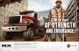 international trucks international trucks print advert by marc united front of