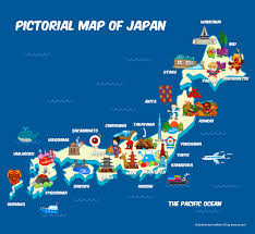 Map Of Capri Italy by Pictorial Map Of Japan Cgdreams Nippon Part 2 Pinterest