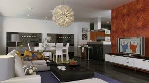 Dining Room Wall Ideas Stunning 70 L Shaped Living And Dining Room Decorating Ideas