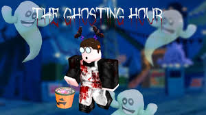 going trick or treating roblox the ghosting hour halloween